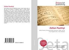 Buchcover von Zoltan Paulinyi