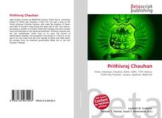 Bookcover of Prithivraj Chauhan