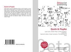 Buchcover von Quick & Flupke