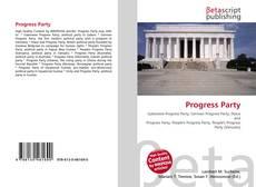 Buchcover von Progress Party