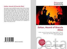 Bookcover of Zoltan, Hound of Dracula (film)