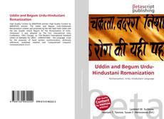 Uddin and Begum Urdu-Hindustani Romanization kitap kapağı