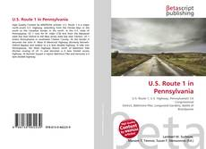 Buchcover von U.S. Route 1 in Pennsylvania