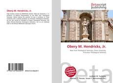 Borítókép a  Obery M. Hendricks, Jr. - hoz