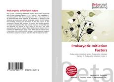 Buchcover von Prokaryotic Initiation Factors