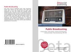 Buchcover von Public Broadcasting