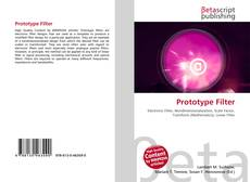 Bookcover of Prototype Filter