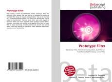 Capa do livro de Prototype Filter