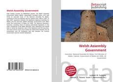 Borítókép a  Welsh Assembly Government - hoz