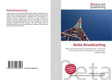 Buchcover von Radio Broadcasting
