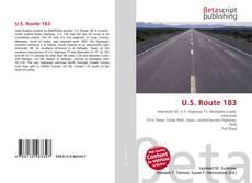 Bookcover of U.S. Route 183