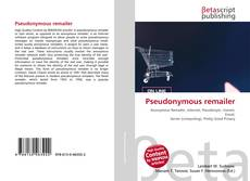 Bookcover of Pseudonymous remailer