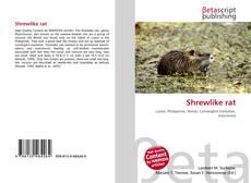 Обложка Shrewlike rat