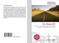 Bookcover of U.S. Route 231