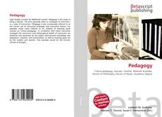 Bookcover of Pedagogy