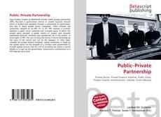 Buchcover von Public–Private Partnership