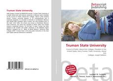 Bookcover of Truman State University