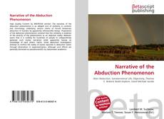 Portada del libro de Narrative of the Abduction Phenomenon