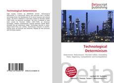 Capa do livro de Technological Determinism