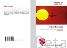 Обложка Solar Furnace