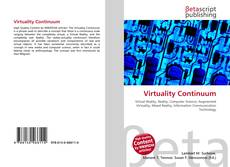 Bookcover of Virtuality Continuum