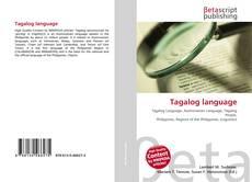 Buchcover von Tagalog language