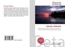 Bookcover of Sarnia, Ontario