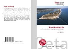 Bookcover of Sinai Peninsula
