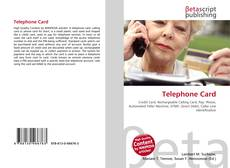 Bookcover of Telephone Card