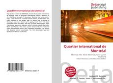 Capa do livro de Quartier international de Montréal