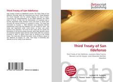 Borítókép a  Third Treaty of San Ildefonso - hoz