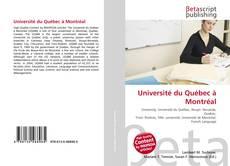 Borítókép a  Université du Québec à Montréal - hoz