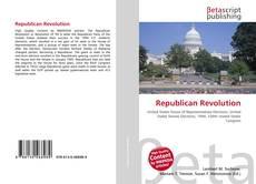 Bookcover of Republican Revolution