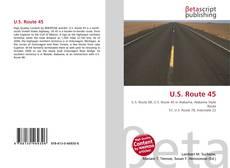 Bookcover of U.S. Route 45