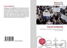 Bookcover of Social Solidarity
