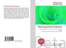 Bookcover of Pharmaceutical Industry