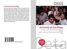 Borítókép a  University of San Diego - hoz