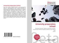 Bookcover of University-preparatory School