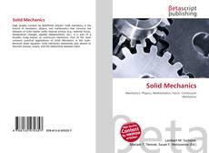 Bookcover of Solid Mechanics