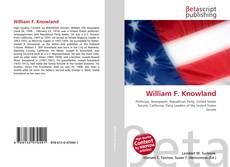 Couverture de William F. Knowland