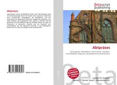 Bookcover of Abtpräses