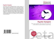 Psychic Vampire kitap kapağı