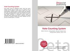 Bookcover of Vote Counting System