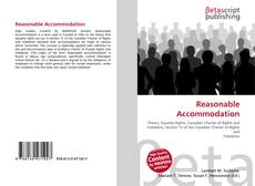 Bookcover of Reasonable Accommodation