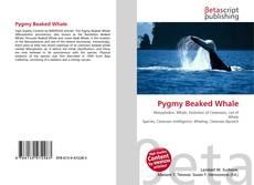 Portada del libro de Pygmy Beaked Whale