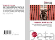 Bookcover of Religious Architecture