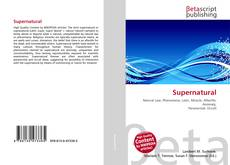 Bookcover of Supernatural