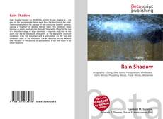 Bookcover of Rain Shadow
