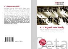 Bookcover of Y. S. Rajasekhara Reddy