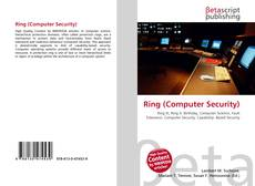 Bookcover of Ring (Computer Security)